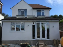 Kitchen & Bedroom Extension in Seaford