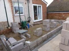 foundations,brickwork,blockwork,muck away,seaford,brighton,extensions