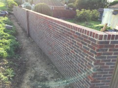 Garden Design Brickwork Projects